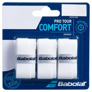 Babolat Pro Tour Overgrip 3 Pack White