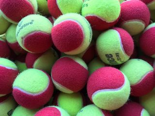 Secondhand Red Dot Tennis Balls