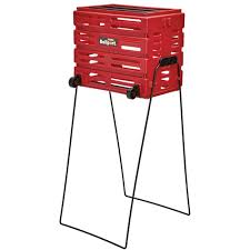 Tourna Ballport Ball Basket Red