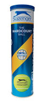 Slazenger Hardcourt Ultra Vis - 4 Ball Can